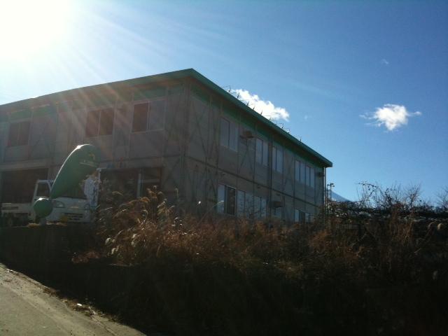 〓実家の工場