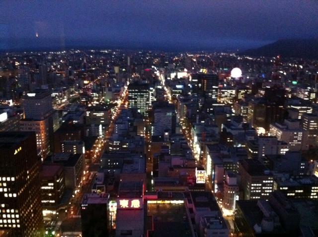 札幌夜景なう