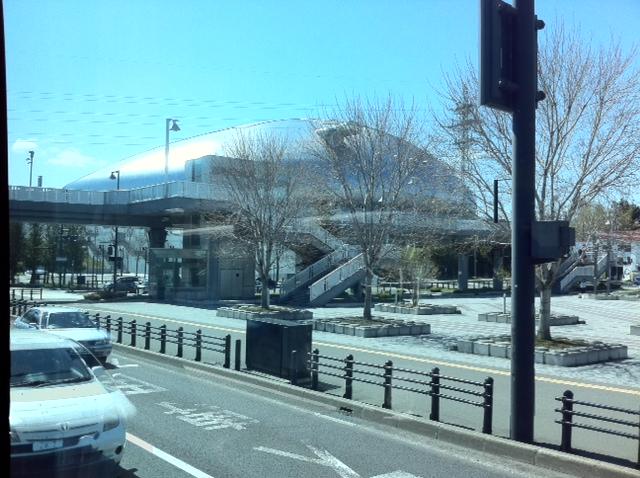 札幌ドームなう